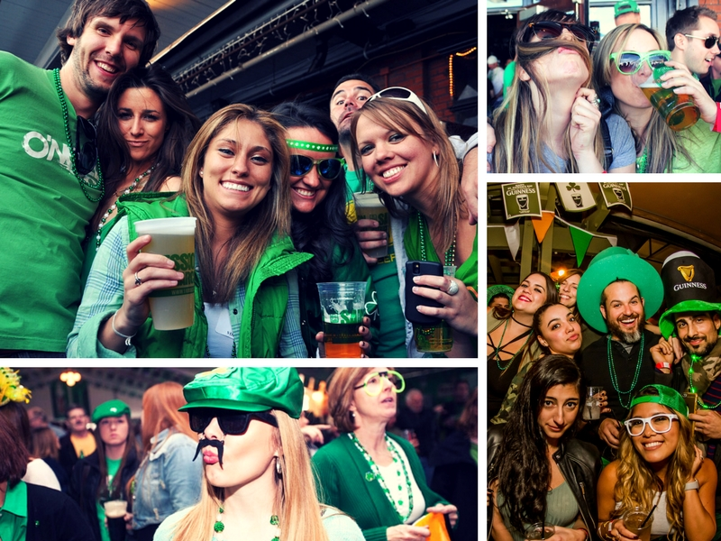 st patricks day 2018 at fado irish pub